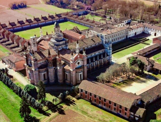 The Certosa di Pavia in Italy.