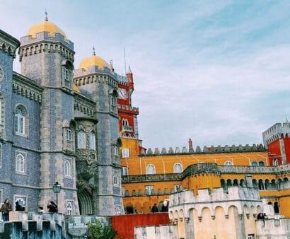 Castle of Pena in Portugal.