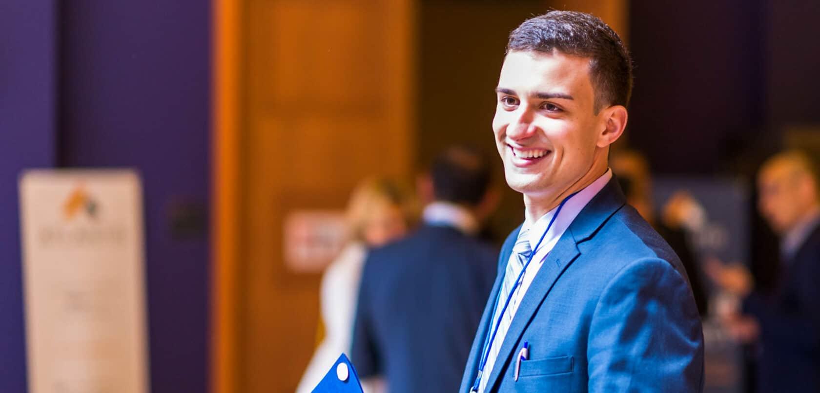 George Bugarinovic, Atlantis Alum and Harvard MS3, presents at Atlantis Connect Conference.
