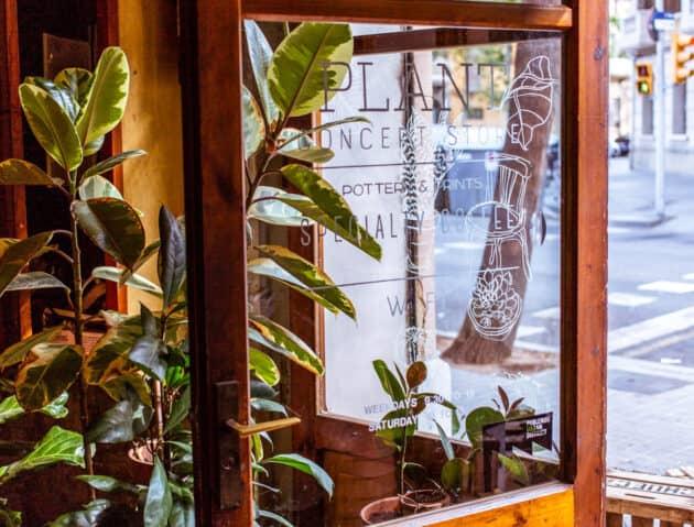 A coffee shop in barcelona.