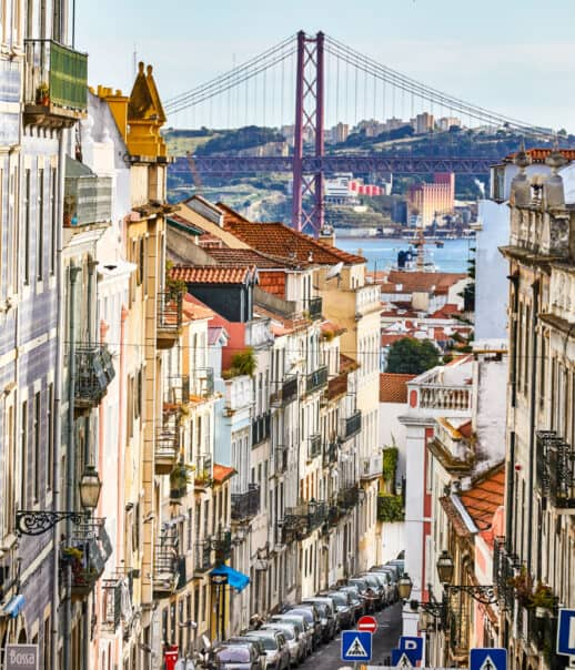 The city of Lisbon.