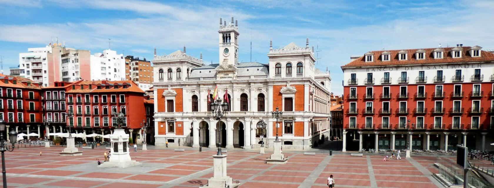 Plaza Mayor in Valladolid.