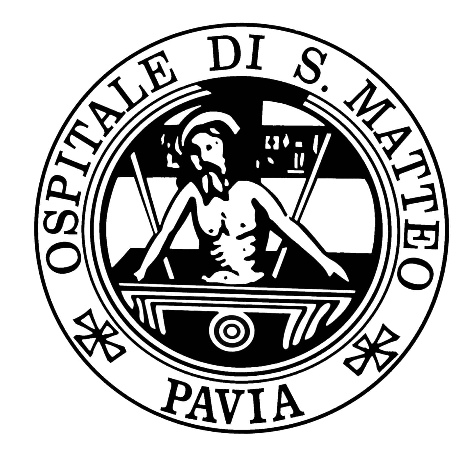 San Matteo Pavia logo.