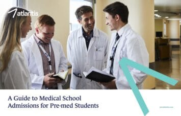 Cover of the Medical School Admissions Guide.
